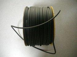 画像1: エアーチューブシリコン ブラック1m単位